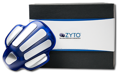 ZYTO Hand Cradle and laptop