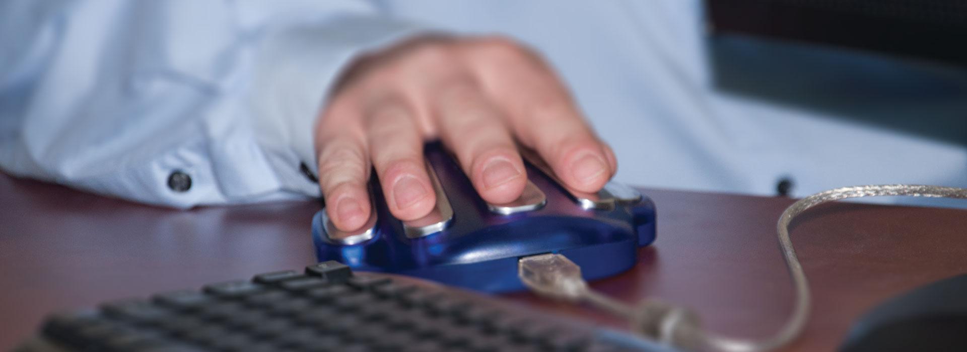 ZYTO Hand Cradle scan